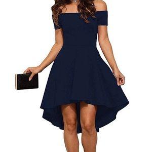 Sarin Mathews Black High Low Dress Size Small